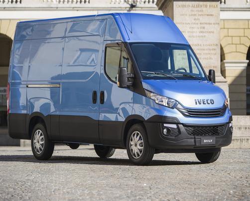 IVECO Daily 50С15 V (суцільнометалевий вантажний фургон)