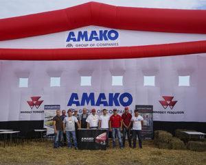 Стенд компании АМАКО на выставке Битва АгроТитанов
