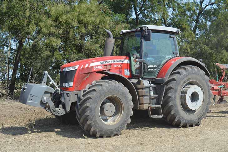 Трактор MF 8737