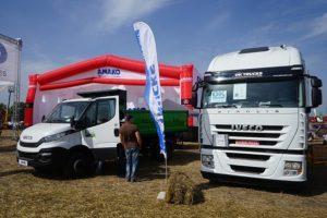 Вантажівки IVECO на стенді АМАКО