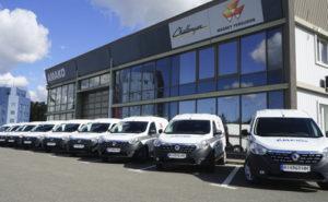 """парк сервісних автомобілів компанії """"АМАКО Україна"""" поповнився 22 новими моделями Renault Dokker та 8 Renault Logan"""