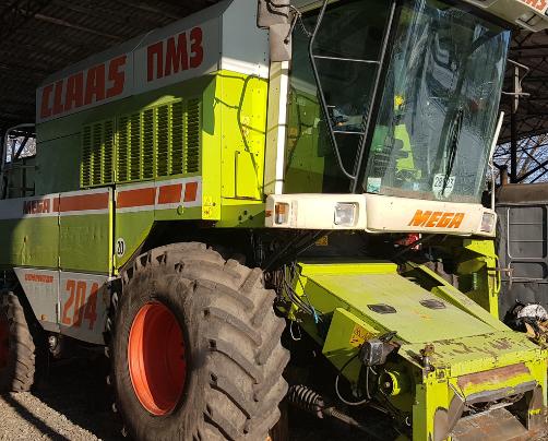 Комбайн зернозбиральний CLAAS Mega 204 Dominator