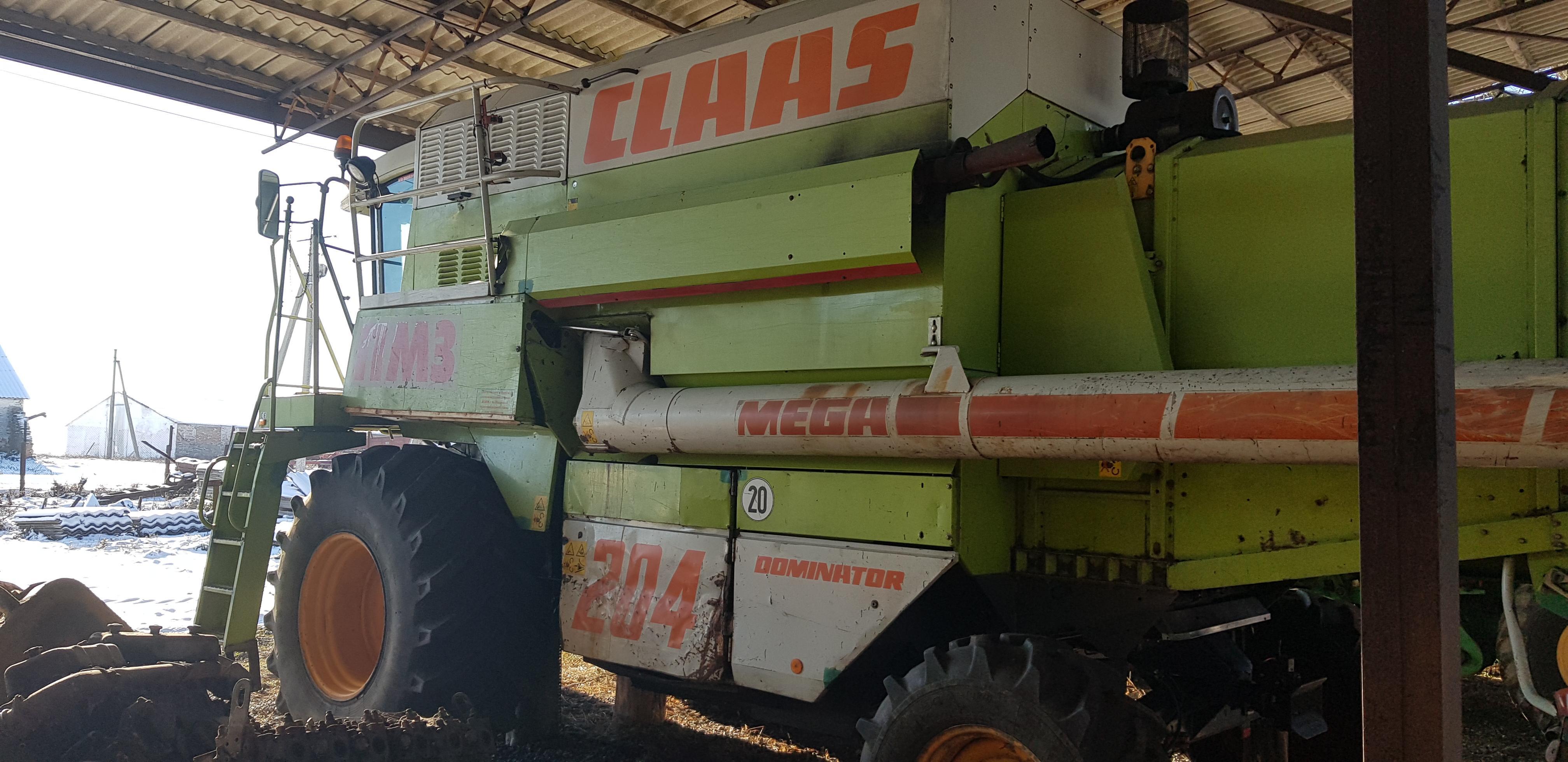 Комбайн зерноуборочный CLAAS Mega 204 Dominator