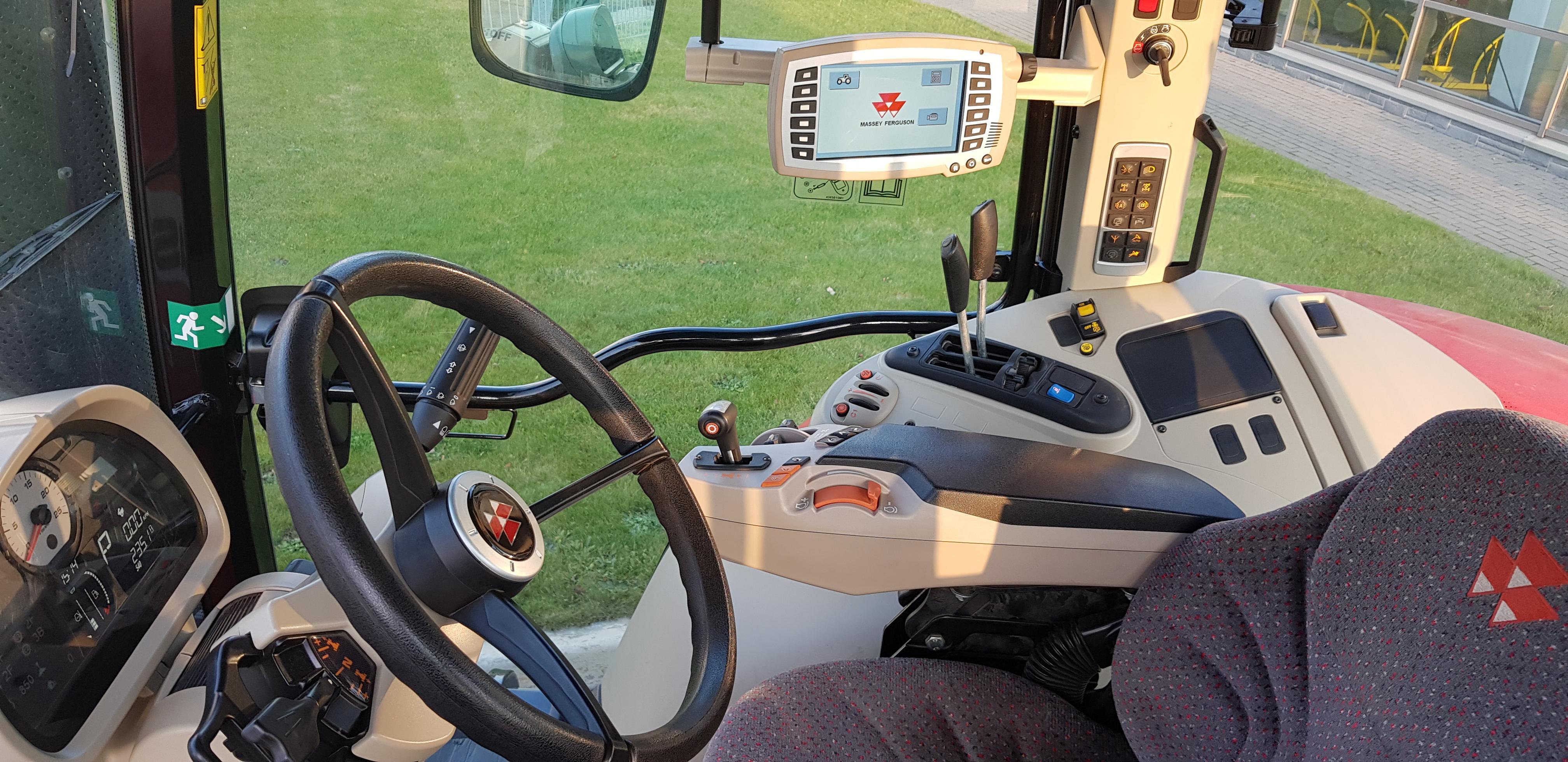 Трактор колесный Massey Ferguson 7724 (демонстрационный)