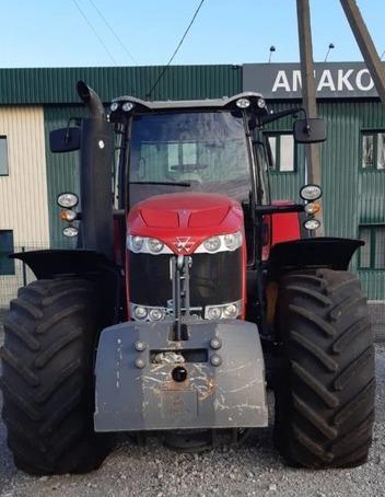 Трактор колісний Massey Ferguson 8737