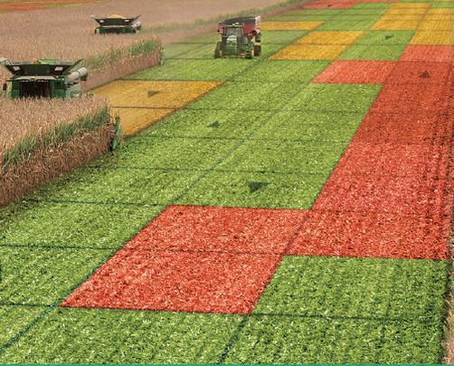 Решение Precision Planting для комбайнирования