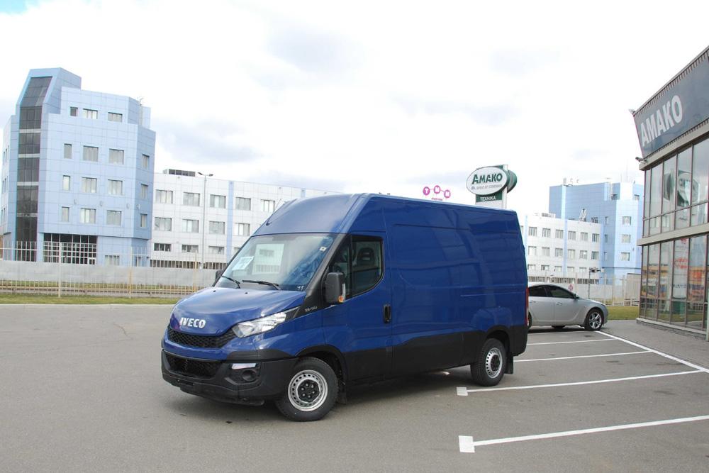 Цельнометаллический грузовой фургон IVECO Daily 50C15V 16, 18 и 19,6 м3