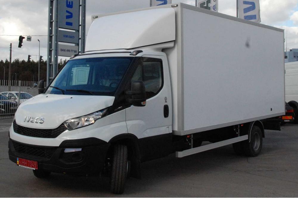 Вантажний автомобіль IVECO Daily 70C15 з промтоварним фургоном об'ємом 28 та 31.5м3