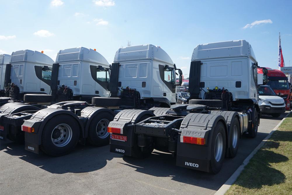 Седельный тягач 4х2 Евро 5 IVECO Stralis AT440S42TP RR