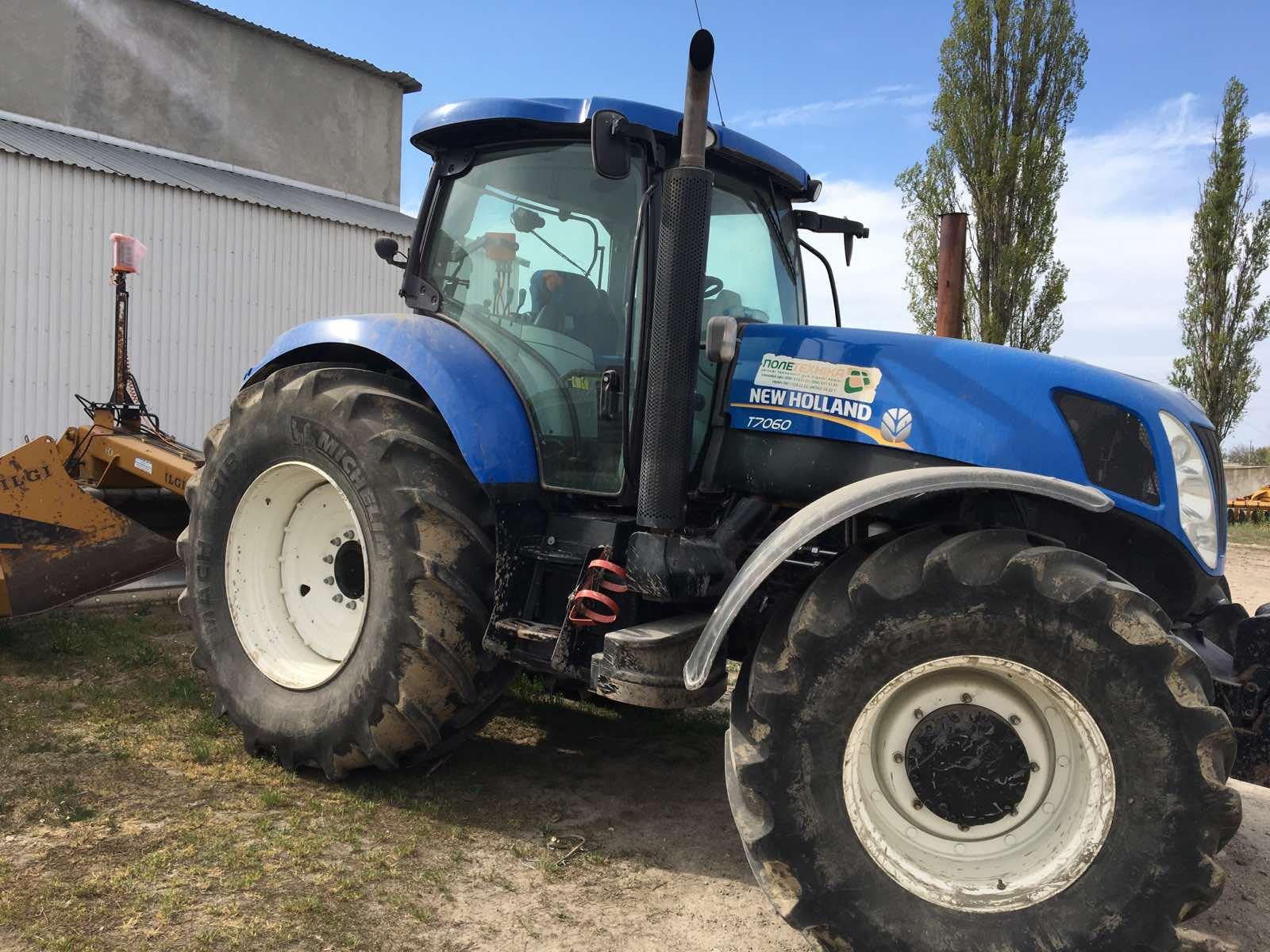 Трактор колісний New Holland T7060