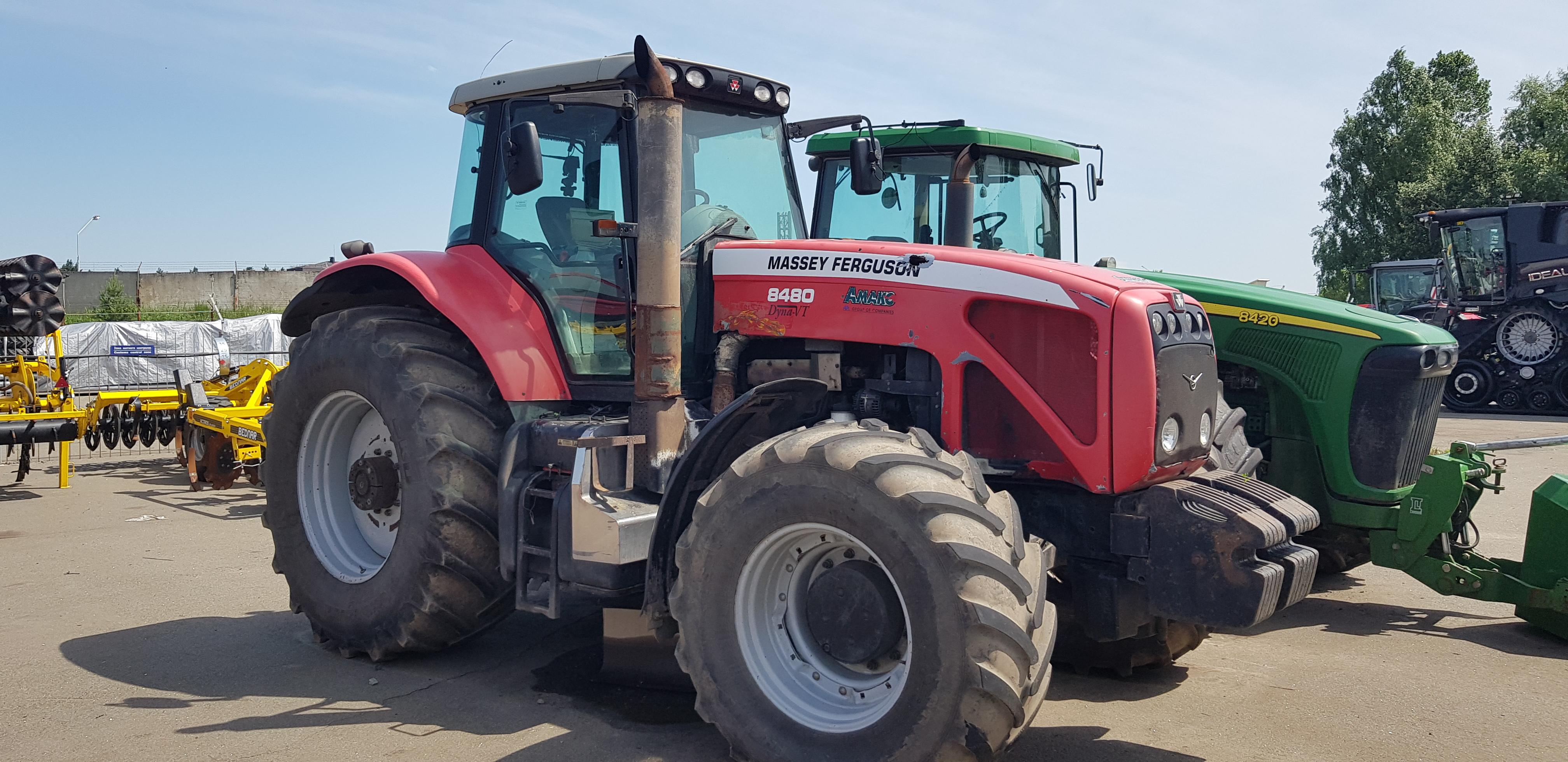 Трактор колісний Massey Ferguson 8480