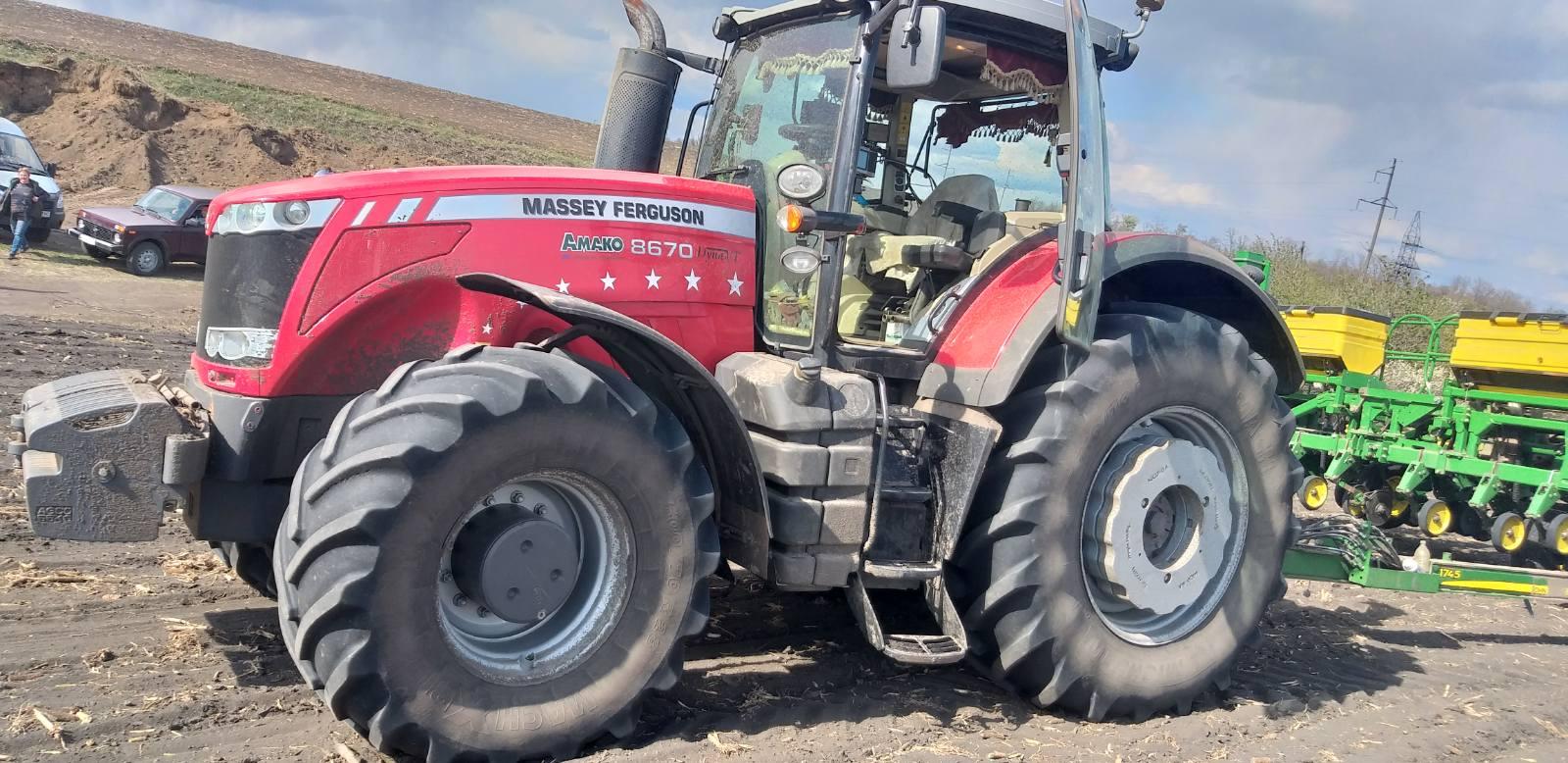 Трактор колісний Massey Ferguson 8670