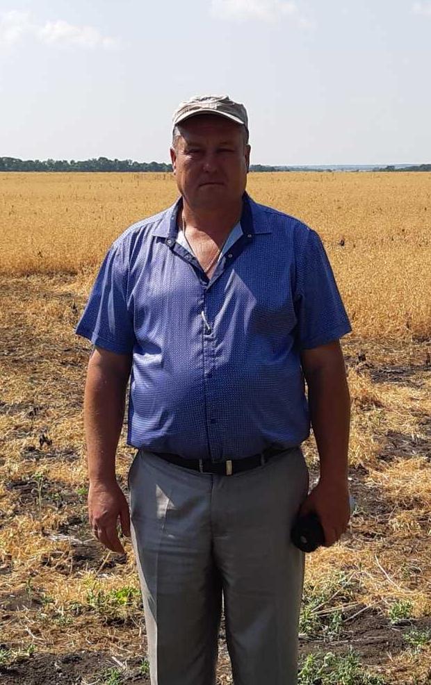Микола Карнаух, головний агроном, Розівська дослідна станція